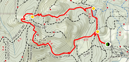 Section 36 Loop Trail Map