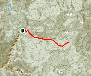 Mill Canyon Trail Map