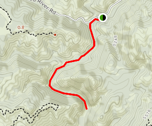 Crooked River Trail [CLOSED] Map