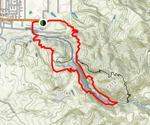 Lake Marie Loop via Skyline Trail and Manzanita Trail Map