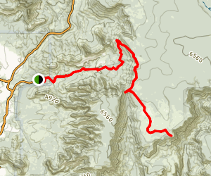 Schnebly Hill Trail Map