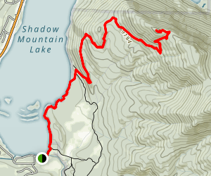 Shadow Mountain Fire Lookout Trail Map