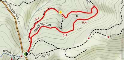 The Old Growth Trail Map
