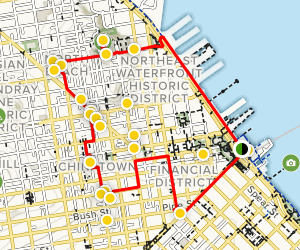 Loop of Downtown San Francisco, North Beach, and Chinatown ...
