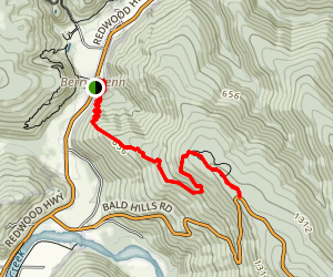 Berry Glen Trail Map