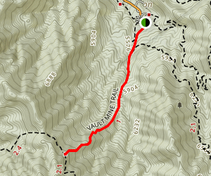 Vault Mine Trail One Hundred Forty Map