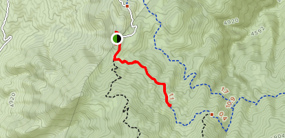 Lone Pine Trail Map