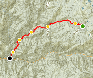Downieville Classic Map
