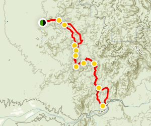 Coke Ovens 4x4 Trail Map