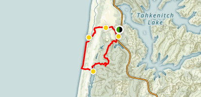 Tahkenitch Dunes Trail Map