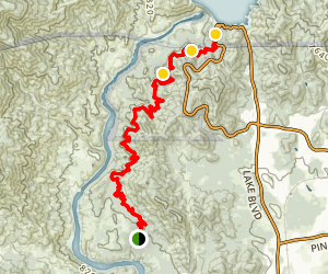 Upper Sacramento Ditch Trail Map