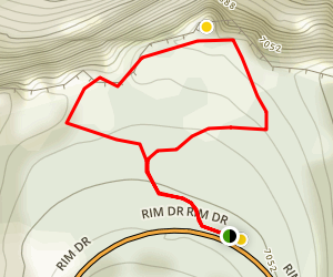 Sun Notch Trail Map