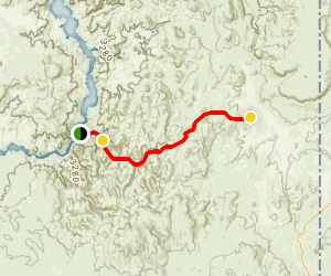 Succor Creek and Leslie Gulch Map