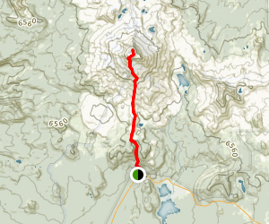 South Sister Trail Map