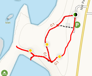 Seal Rock State Recreation Area Trail Map