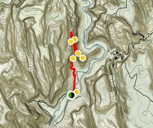 Angels Landing Trail Map