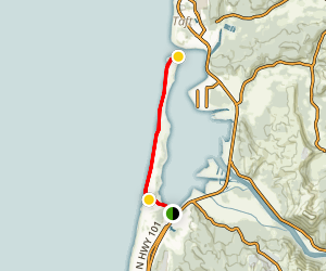 Salishan Spit Trail Map