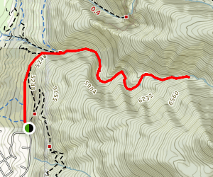 Strongs Canyon Trail Map