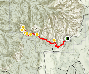 Bartizan Arch Trail Map
