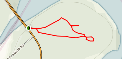 Cheatham Grove Trail Map
