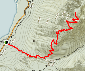 Mount Brown Lookout Trail Map