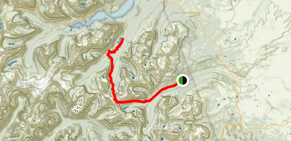 Triple Divide Trail Map