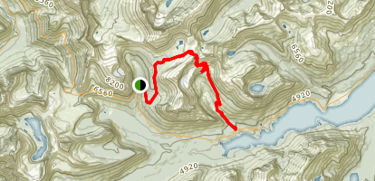 Siyeh Pass Trail Map