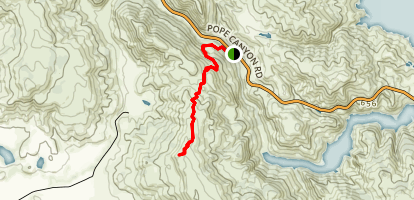 Cedar Roughs Trail Map