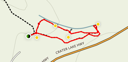 Rogue Gorge Trail Map