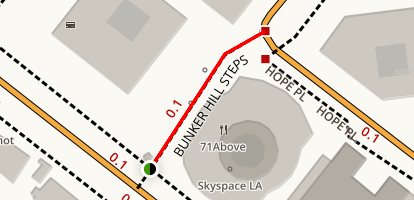 Bunker Hill Steps Map
