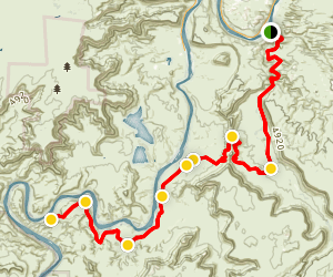 Chicken Corners 4x4 Trail Map