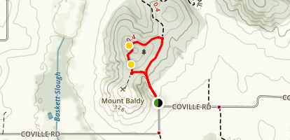 Baskett Bluff Loop Map