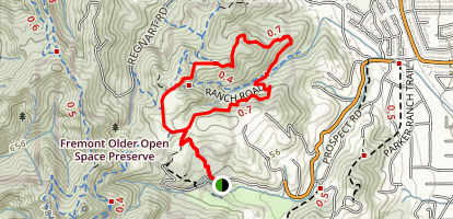 Seven Springs Trail Loop Map