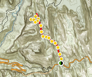 Mountain of the Sun Trail Map