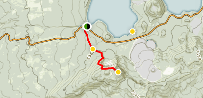 Paulina Peak Trail Map