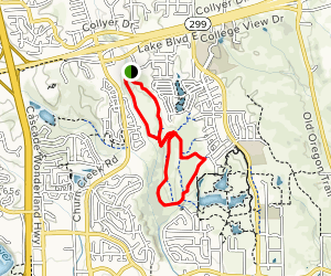 Churn Creek Trails Map