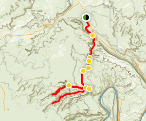 Bull Canyon 4x4 Road Map
