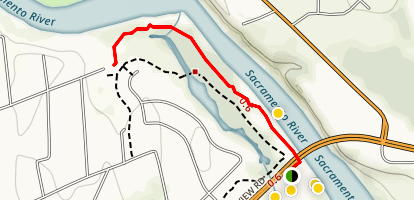 John Reginato River Access Map