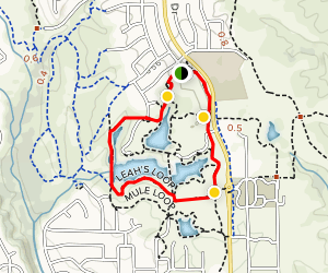 Leah's Loop and Secluded Loop Map