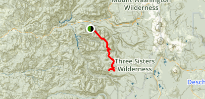 Olallie Trail Map