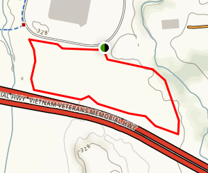 Whale Tail Trail Map