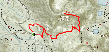 Mount Wolverine Trail Map