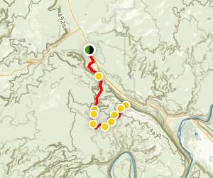 Gold Bar Rim 4x4 Trail Map