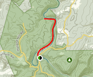 Youghiogheny River to Jonathan Run Falls Map