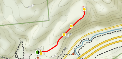 Clear Creek Canyon Overlook Trail Map