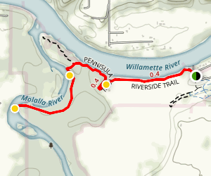 Molalla River State Park Trail Map
