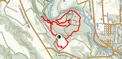 Milo McIver State Park Loop Trail Map