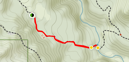 Shelter Falls Swimming Hole Trail Map
