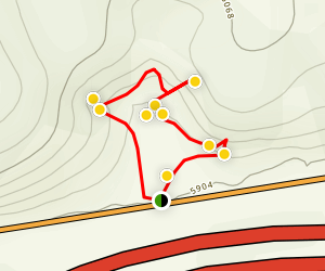 Canyon of Life Trail Map