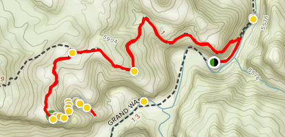 Cassidy Arch Trail Map